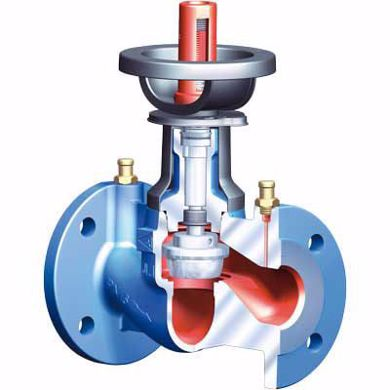 Obrázok pre kategóriu Vyvažovacie ventily